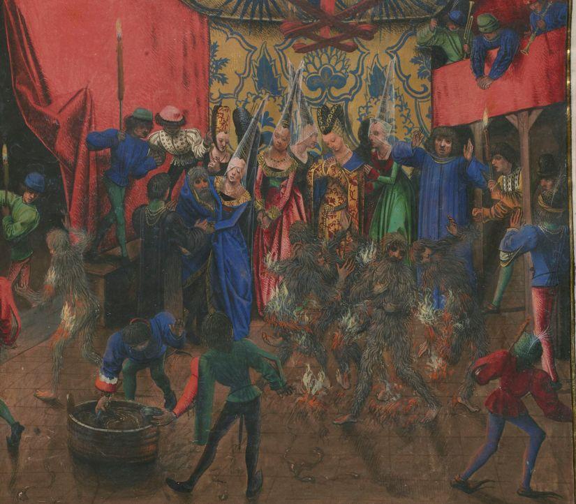 Illuminated manuscript. Jean Froissart. Charles VI.