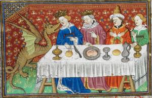 Illuminated Manuscript. Alexander the Great. British Library. Royal MS 15 E VI. Talbot Shrewsbury Book. Le Roman d'Alexandre en prose. Prose Alexander-Romance