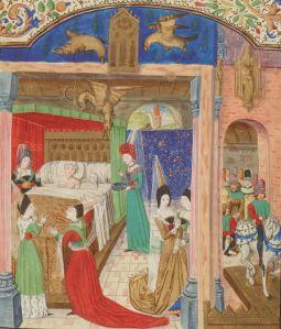 Illuminated Manuscript. Alexander the Great. BnF, français 257. Quinte Curse. Vasco de Lucena. Life of Alexander.