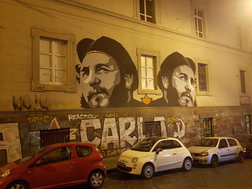Che Guevara. Napoli. Centro Storico. Naples.