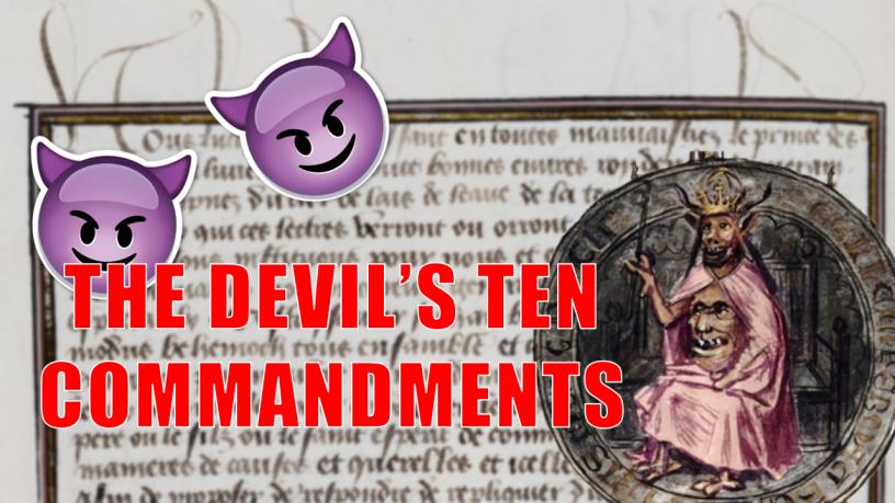 Devil's 10 Commandments