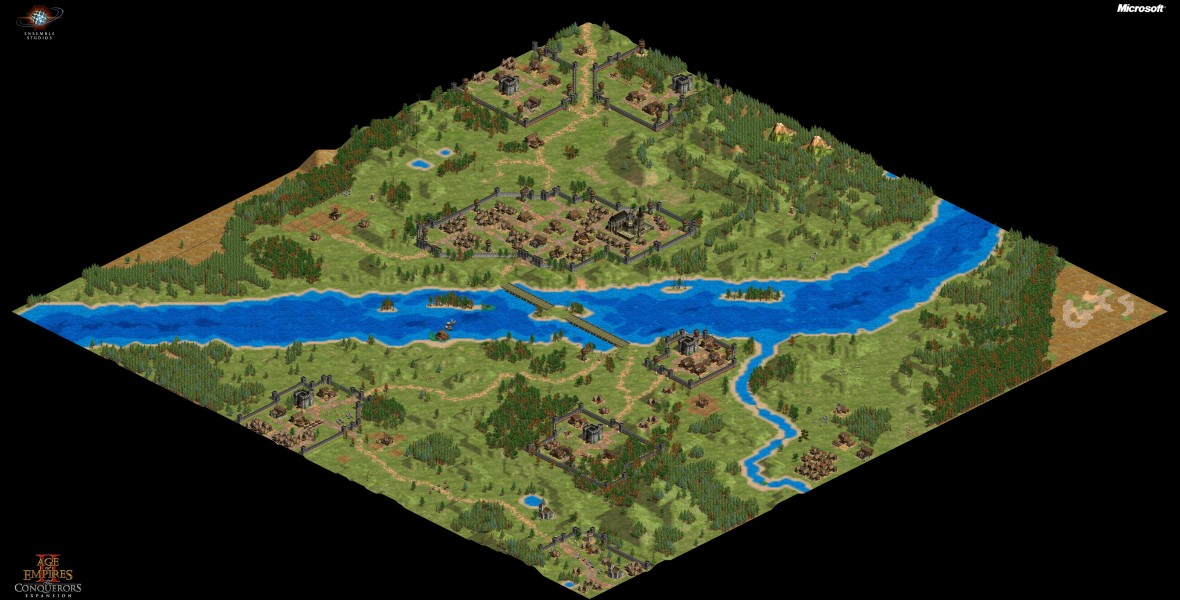 Age of Empires 2 (1999). Joan of Arc's Campaign. Scenario 2: The Maid of Orléans