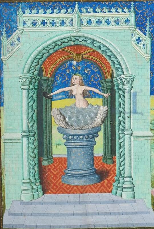 Brussels, KBR, ms. 9242, f. 175r. Jean Wauquelin. Chroniques de Hainaut. Vénus.