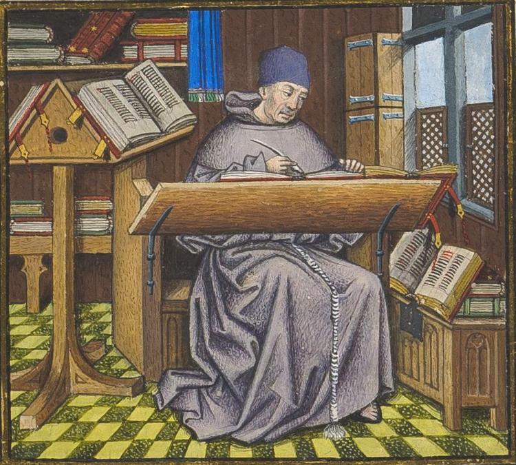 Brussels, KBR, ms. 9542. Jean de Wauquelin. Chroniques de Hainaut.