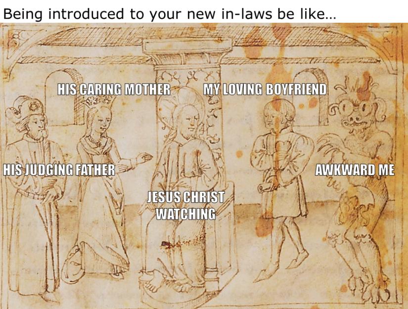 Medieval Meme. An Awkward Introduction
