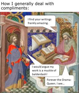 Medieval Meme. Compliments