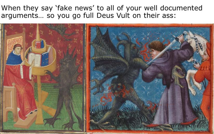 Medieval Meme. Dismantling Fake News