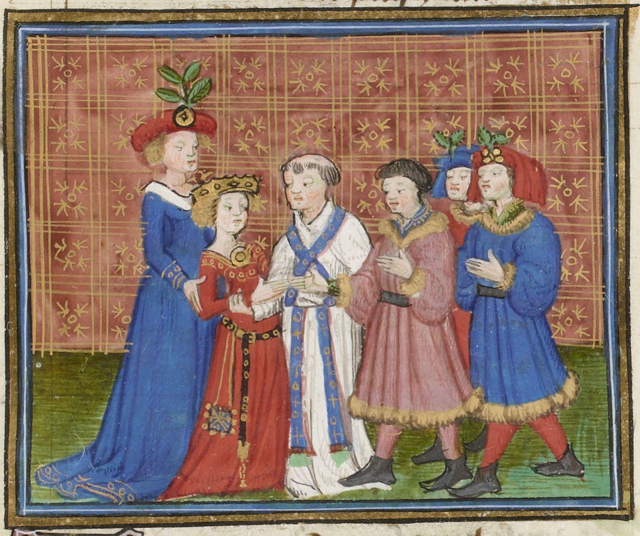 Illuminated manuscript.