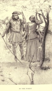 Mark Twain. Joan of Arc. Frand Du Mond (1896). Joan of Arc in the Forest.