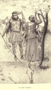 Mark Twain. Joan of Arc. Frand Du Mond (1896). Joan of Arc in the Forest.