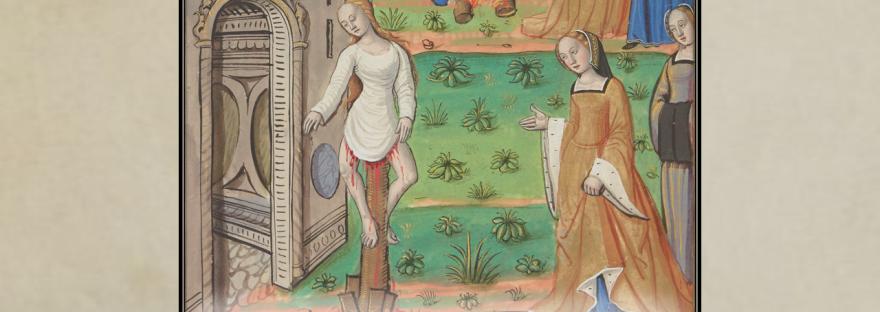 Medieval Torture. Impaling. Illumination. Illuminated manuscript.